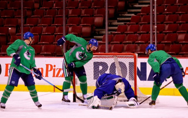 Vancouver Canucks implementing team building for sports teams