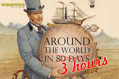 AROUND THE WORLD IN 3 HOURS