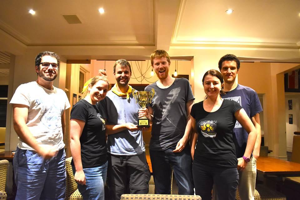 Urban quest winners team