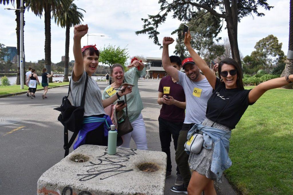 Urban Quest Team Building Melbourne
